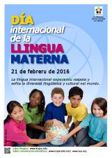 Internacia Tago de la Gepatra Lingvo, 21-a de februaro 2016 - (astura | ast | Asturianu) klaku por vidi la grandan (preseblan) afiŝversion (en nova fenestro)