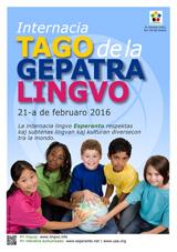 Internacia Tago de la Gepatra Lingvo, 21-a de februaro 2016 - (esperanta | eo | Esperanto) klaku por vidi la grandan (preseblan) afiŝversion (en nova fenestro)