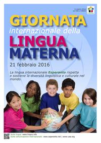 21 febbraio - GIORNATA INTERNAZIONALE DELLA LINGUA MATERNA