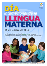 Internacia Tago de la Gepatra Lingvo, 21-a de februaro 2017 - (astura | ast | Asturianu) klaku por vidi la grandan (preseblan) afiŝversion (en nova fenestro)
