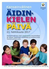 21 helmikuuta - Kansainvälinen äidinkielen päivä