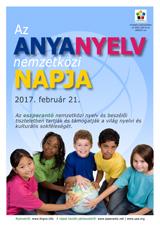 Internacia Tago de la Gepatra Lingvo, 21-a de februaro 2017 - (hungara | hu | Magyar) klaku por vidi la grandan (preseblan) afiŝversion (en nova fenestro)