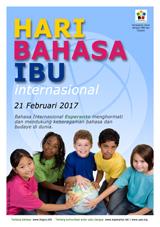 Internacia Tago de la Gepatra Lingvo, 21-a de februaro 2017 - (indonezia | id | Bahasa Indonesia) klaku por vidi la grandan (preseblan) afiŝversion (en nova fenestro)