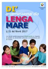 Internacia Tago de la Gepatra Lingvo, 21-a de februaro 2017 - (piemonta | pms/roa | Piemontèis) klaku por vidi la grandan (preseblan) afiŝversion (en nova fenestro)