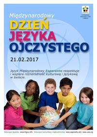 21 lutego - Międzynarodowy Dzień Języka Ojczystego
