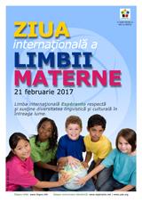 Internacia Tago de la Gepatra Lingvo, 21-a de februaro 2017 - (rumana | ro | Română) klaku por vidi la grandan (preseblan) afiŝversion (en nova fenestro)