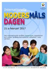 Internacia Tago de la Gepatra Lingvo, 21-a de februaro 2017 - (sveda | sv | Svenska) klaku por vidi la grandan (preseblan) afiŝversion (en nova fenestro)