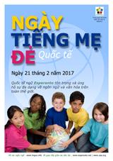 Internacia Tago de la Gepatra Lingvo, 21-a de februaro 2017 - (vjetnama | vi | Tiếng Việt) klaku por vidi la grandan (preseblan) afiŝversion (en nova fenestro)