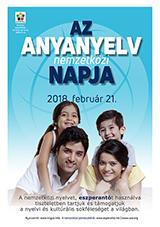 2018. február 21. - Az anyanyelv nemzetközi napja | Internacia Tago de la Gepatra Lingvo, 21-a de februaro 2018 - (hungara | hu | Magyar) klaku por vidi la grandan (preseblan) afiŝversion (en nova fenestro)
