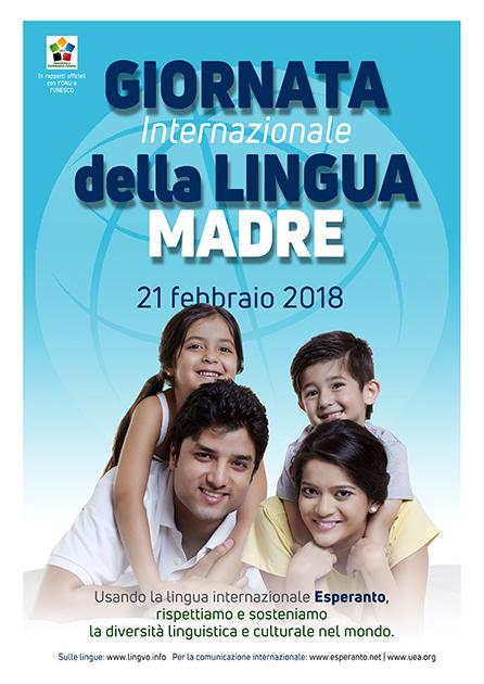 21 febbraio 2018 - Giornata Internazionale della Lingua Madre