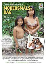 21. februar 2019 - Den Internationale Modersmålsdag i det Internationale År for Indfødte Sprog - (dana | da | Dansk) klaku por vidi la grandan (preseblan) afiŝversion (en nova fenestro)