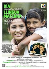 21 de febreru de 2020 - Día Internacional de la Llingua materna  - (astura | ast | Asturianu) klaku por vidi la grandan (preseblan) afiŝversion (en nova fenestro)