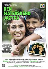 Internacia Tago de la Gepatra Lingvo, 21-a de februaro 2020 - (ĉeĥa | cs | Čeština) klaku por vidi la grandan (preseblan) afiŝversion (en nova fenestro)
