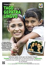 Internacia Tago de la Gepatra Lingvo, 21-a de februaro 2020 - (esperanta | eo | Esperanto) klaku por vidi la grandan (preseblan) afiŝversion (en nova fenestro)