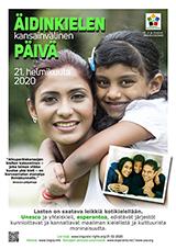 Internacia Tago de la Gepatra Lingvo, 21-a de februaro 2020 - (finna | fi | Suomi) klaku por vidi la grandan (preseblan) afiŝversion (en nova fenestro)