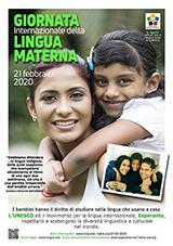 21a de februaro 2020 - Internacia Tago de la gepatra Lingvo - (itala | it | Italiano) klaku por vidi la grandan (preseblan) afiŝversion (en nova fenestro)
