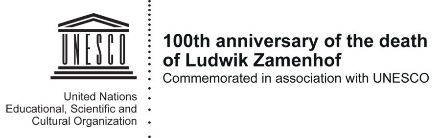Ludwik Lejzer Zamenhof, the creator of Esperanto, the most successful and the most widely spoken constructed international auxiliary language in the world.
