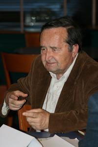 Prof. Renato Corsetti, Universala Esperanto-Asocio (UEA). Photo by Stefano Keller