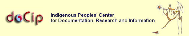 doCip, Geneva, Indigenous Peoples' Center for Documentation, Research and Information - www.docip.org