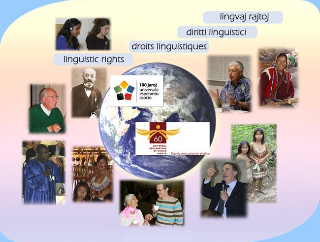 Agado por Lingvaj Homaj Rajtoj en la mondo