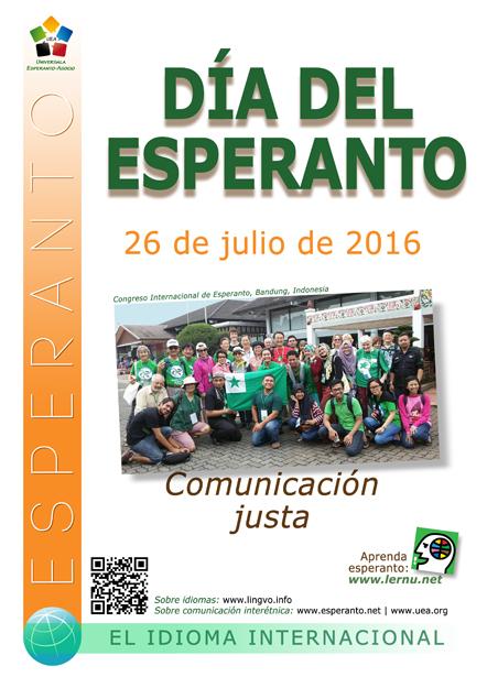 26 de julio - Día del Esperanto - Justicia lingüística