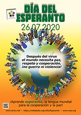 ESPERANTO-TAGO 2020 - hispana - granda, presebla, afiŝa versio - klaku ĉi tien, por malfermi ĝin en nova fenestro