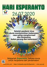 ESPERANTO-TAGO 2020 - indonezia - granda, presebla, afiŝa versio - klaku ĉi tien, por malfermi ĝin en nova fenestro