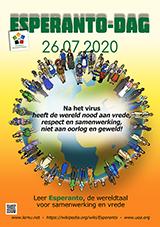 ESPERANTO-TAGO 2020 - nederlanda - granda, presebla, afiŝa versio - klaku ĉi tien, por malfermi ĝin en nova fenestro