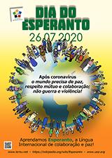 ESPERANTO-TAGO 2020 - portugala - granda, presebla, afiŝa versio - klaku ĉi tien, por malfermi ĝin en nova fenestro