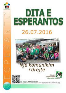 26 korrik - Dita e Esperantos, dita e drejtësisë gjuhësore. Përse Dita e Esperantos? Përse ajo është e rëndësishme për mbarë botën tani? 26-a de julio, Esperanto-Tago, tago de lingva justeco. Kial la Esperanto-tago? Kial ĝi estas grava por la tuta mondo nun?