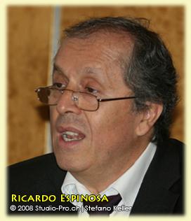M. Ricardo Espinosa, Attaché de liaison, Bureau du Directeur général, Office des Nations Unies à Genève (ONUG)