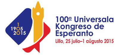 100-a Universala Kongreso de Esperanto, Lillo, Francio, 25 julio - 1 aŭgusto 2015