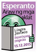Filipina - bilda versio - klaku por malfermi novan fenestron kun la granda afiŝ-bildo. Por Word-doc vidu sub la bildo