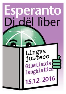 Di dë Zamenhof / Di dël lìber an Esperanto - ij 15 dë dzèmber - Zamenhof-Tago, Esperanta Librotago, 15 decembro